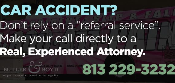 experienced tampa car accident attorney